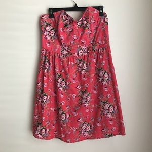 Xhilaration strapless dress